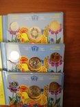 Набор обиходных монет НБУ 2014 года 3 штуки, фото №5