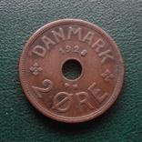2  эре  1928  Дания  (Й.2.52)~, фото №3