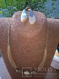 Комплект из натурального рога, фото №3