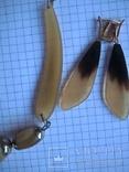 Комплект из натурального рога, фото №9