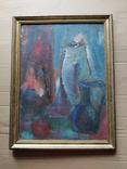 Натюрморт.. к.м. 1984 г. Лариса Жданова, фото №2