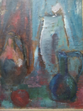 Натюрморт.. к.м. 1984 г. Лариса Жданова, фото №3