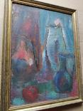 Натюрморт.. к.м. 1984 г. Лариса Жданова, фото №4