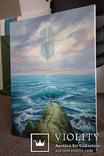 Море, будущее. 80х60 см. масло холст. Ю. Смаль, фото №4