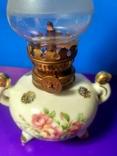 Миниатюрная керосиновая лампа. Клеймо Европа, фото №3