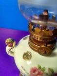 Миниатюрная керосиновая лампа. Клеймо Европа, фото №4