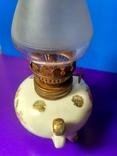 Миниатюрная керосиновая лампа. Клеймо Европа, фото №7