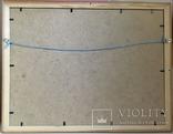 Рибалка, папір/олія, 32х24 см, фото №4