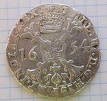 Талер Филиппа 4 го 1654 года герцогство Брабант Нідерланди, фото №2