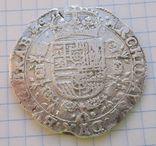 Талер Филиппа 4 го 1654 года герцогство Брабант Нідерланди, фото №4