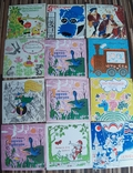 Пластинки детские 103 шт, фото №4