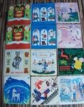 Пластинки детские 103 шт, фото №5