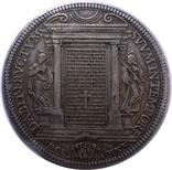 1 піастр 1675 Ватикан, Клеменс Х, фото №2