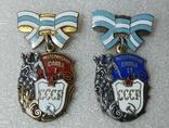 Орден Материнская слава 1 и 2 степень СССР. Книжка., фото №3