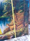 Пейзаж с оленями, фото №4