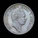 3 Марки 1908 Фридрих Август, Саксония