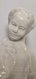 Пионерка собирает хлопок. Артель-Керамик 50-е года., фото №6