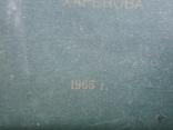 Альбом . Благоустройство и озеленение Харьков . 1965 г, фото №3