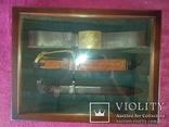 Витрина. рамка для кортиков .штык ножей.блях, фото №3