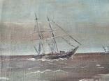 Срезанный холст с рамы, размер 35 х 45см., фото №7