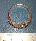 Реплика-копия Витой перстень КР -Балтия-Скандинавия, фото №3