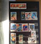 Колекція марок. Космос, кораблі, техніка, інше., фото №5
