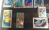 Колекція марок. Космос, кораблі, техніка, інше., фото №6