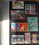 Колекція марок. Космос, кораблі, техніка, інше., фото №8