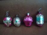 Ёл.игрушки СССР,корзины с цветами,фонарики, фото №2