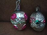Ёл.игрушки СССР,корзины с цветами,фонарики, фото №3