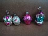 Ёл.игрушки СССР,корзины с цветами,фонарики, фото №5