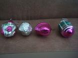Ёл.игрушки СССР,корзины с цветами,фонарики, фото №7