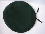 Берет зеленый.58 размер, фото №2