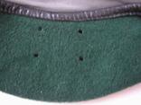 Берет зеленый.58 размер, фото №5
