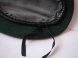 Берет зеленый.58 размер, фото №8