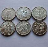 Лот 5 франков 1934 . 1939 . 1939 . 1941 . 1944 . 1948 Швейцария серебро, фото №2