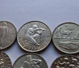 Лот 5 франков 1934 . 1939 . 1939 . 1941 . 1944 . 1948 Швейцария серебро, фото №4