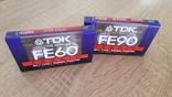 Касети TDK FE 60 і TDK FE 90, фото №2