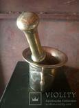 Бронзовая ступка. 2.5 кг (12-06-С), фото №3