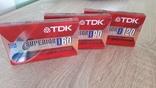 Касети TDK D60, TDK D90, TDK D120, фото №2