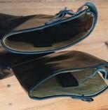 Сапоги хромовые новые 44 размер made in Italy Vibram, фото №5
