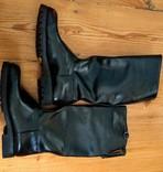 Сапоги хромовые новые 44 размер made in Italy Vibram, фото №9