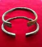 Два массивных Древних браслета ПК., фото №3