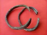 Два массивных Древних браслета ПК., фото №4