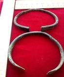 Два массивных Древних браслета ПК., фото №10