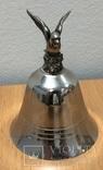 Металлический колокольчик с орлом, фото №2