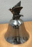 Металлический колокольчик с орлом, фото №3