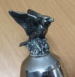 Металлический колокольчик с орлом, фото №6