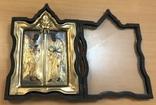 Икона апстолы Петр и Павел. Серебро 84 пробы. (новодел), фото №8