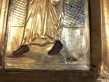 Икона апстолы Петр и Павел. Серебро 84 пробы. (новодел), фото №12